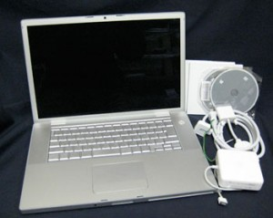 MacBookPro 15インチ 2.6GHz Core 2 Duo